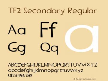 TF2 Secondary