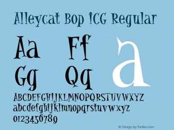 Alleycat Bop ICG
