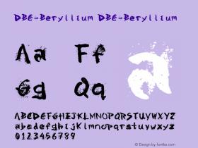 DBE-Beryllium