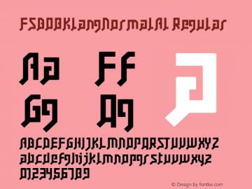 FSB08KlangNormalAl