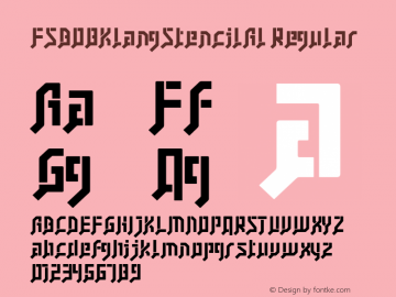 FSB08KlangStencilAl