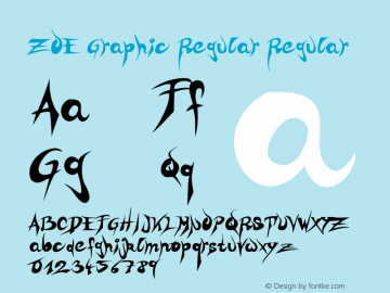 ZOE Graphic Regular