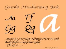 Gourdie Handwriting