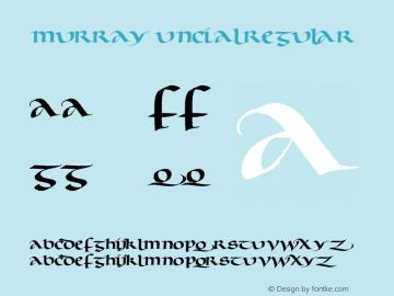 Murray Uncial