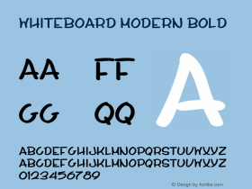 Whiteboard Modern