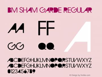 BM Sham Garde