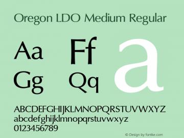 Oregon LDO Medium