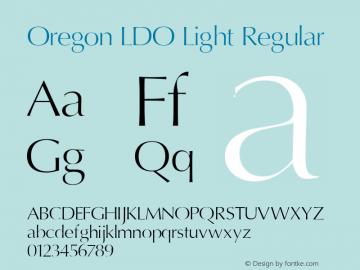 Oregon LDO Light