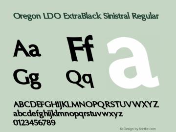 Oregon LDO ExtraBlack Sinistral