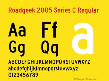 Roadgeek 2005 Series C