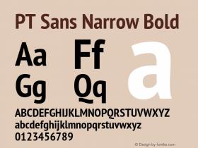 PT Sans Narrow