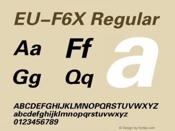 EU-F6X