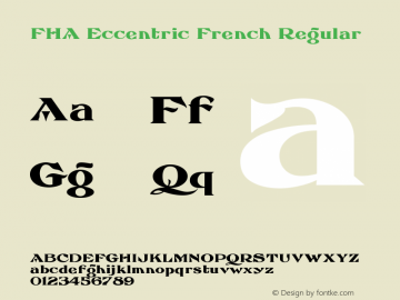 FHA Eccentric French