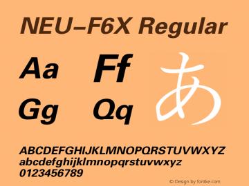 NEU-F6X