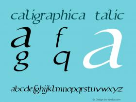 caligraphica