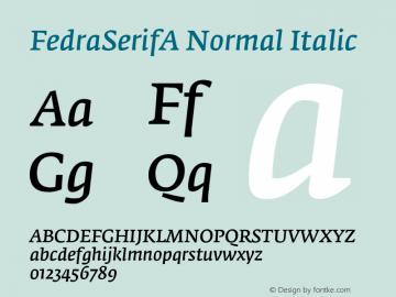 FedraSerifA Normal