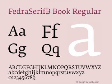 FedraSerifB Book