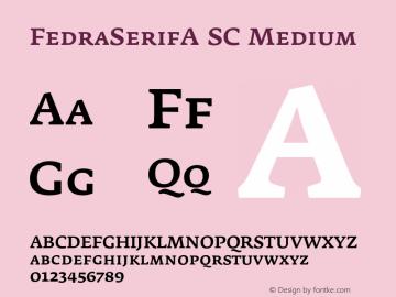 FedraSerifA SC