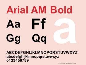 Arial AM