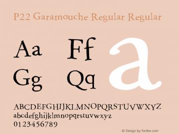 P22 Garamouche Regular