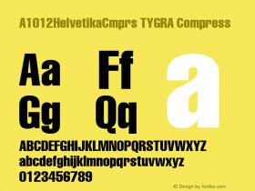 A1012HelvetikaCmprs TYGRA