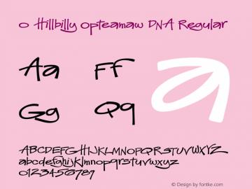 0 Hillbilly Opteamaw DNA