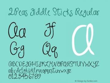 2Peas Fiddle Sticks