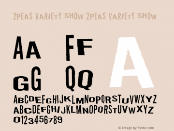 2Peas Variety Show