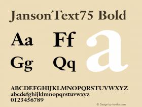 JansonText75
