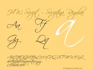 HW, Script - Scriptina