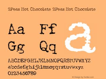 2Peas Hot Chocolate
