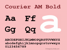 Courier AM