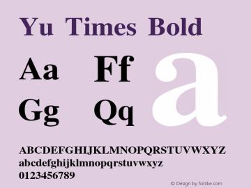 Yu Times