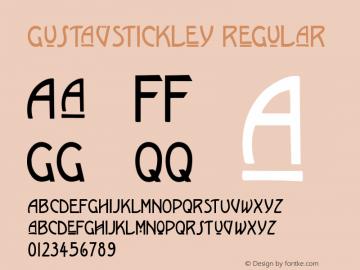 GustavStickley
