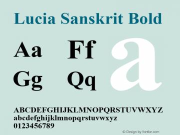 Lucia Sanskrit
