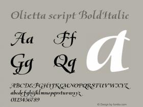 Olietta script