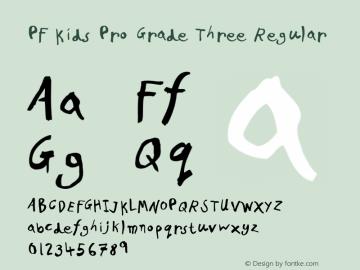 PF Kids Pro Grade Three