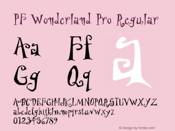 PF Wonderland Pro