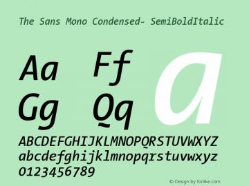 The Sans Mono Condensed-