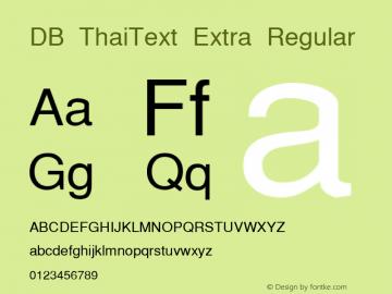 DB ThaiText Extra
