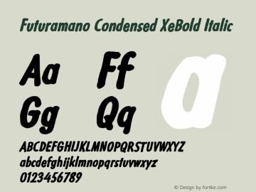Futuramano Condensed XeBold