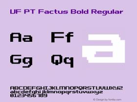 UF PT Factus Bold