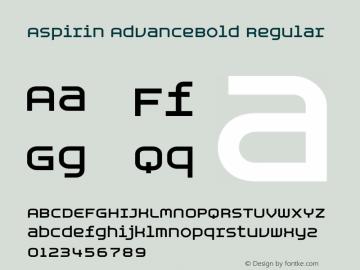 Aspirin AdvanceBold