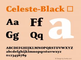 Celeste-Black