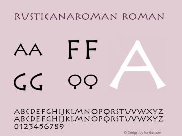RusticanaRoman