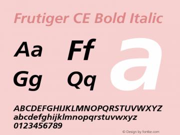 Frutiger CE