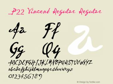 P22 Vincent Regular