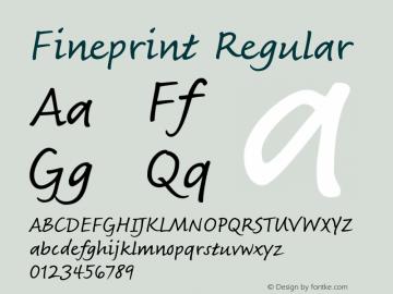 Fineprint