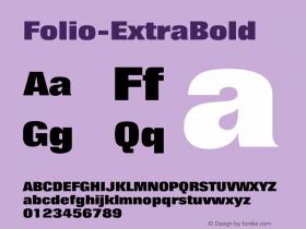 Folio-ExtraBold