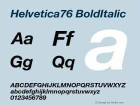 Helvetica76
